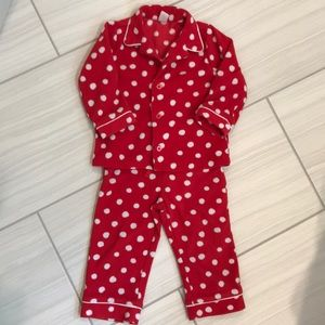 Gap fleece pajama set 2T